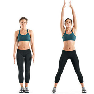 Image result for jumping jacks exercise