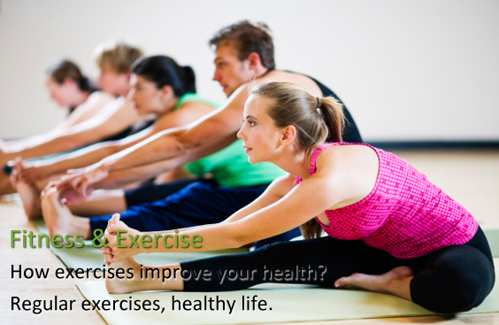 Do exercises, keep in shape and maintain healthy